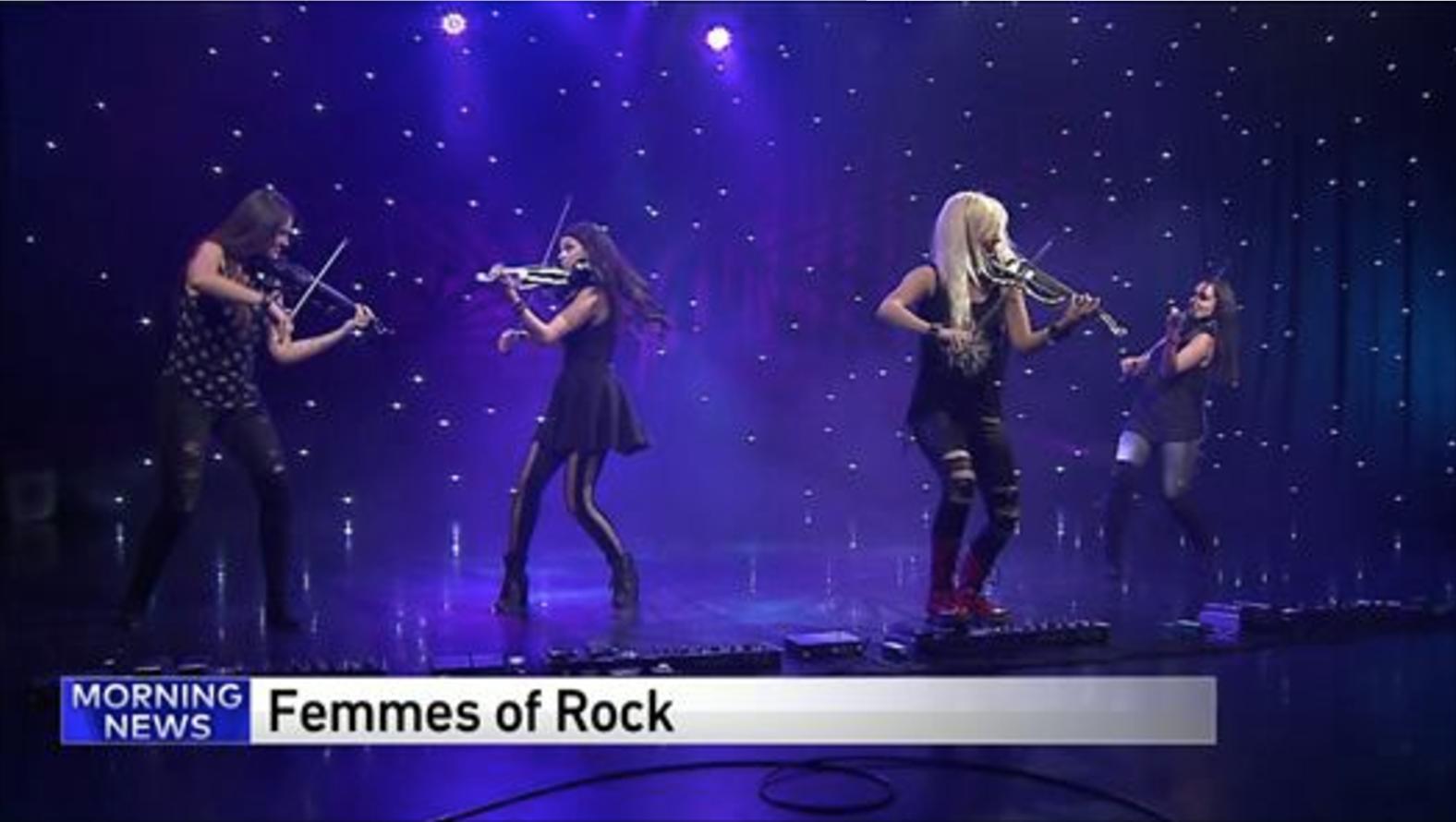 Femmes of Rock WGN9