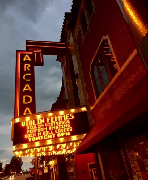 The Arcada Theater in St. Charles, Illinois