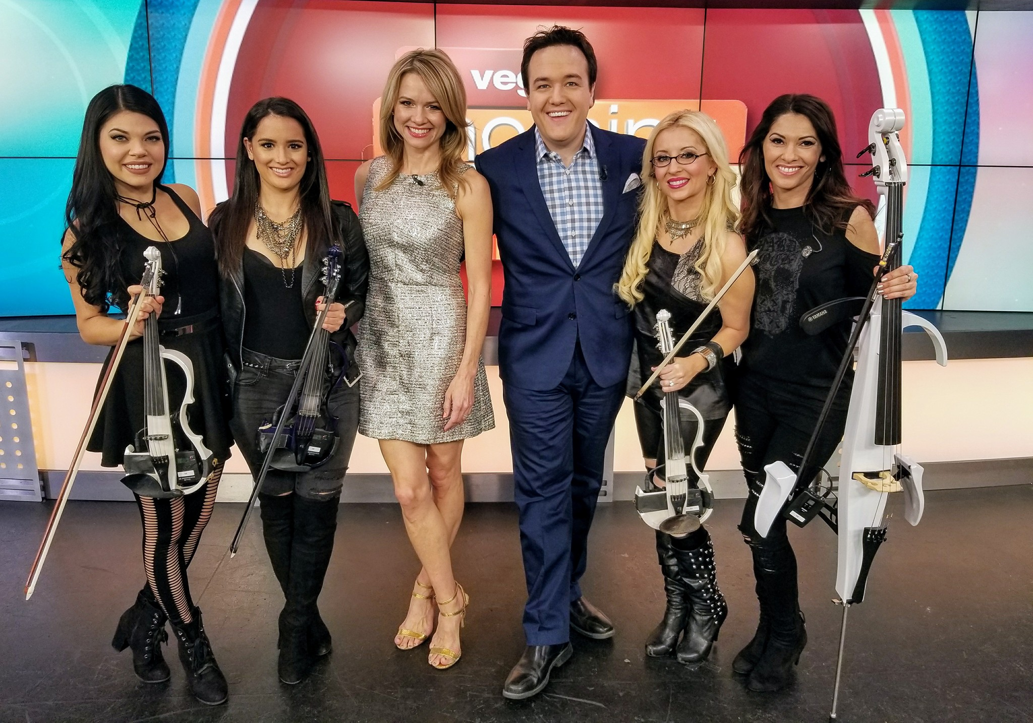 "The Femmes perform their single ""Eleanor Rigby"" on The Morning Blend KTNV Las Vegas."