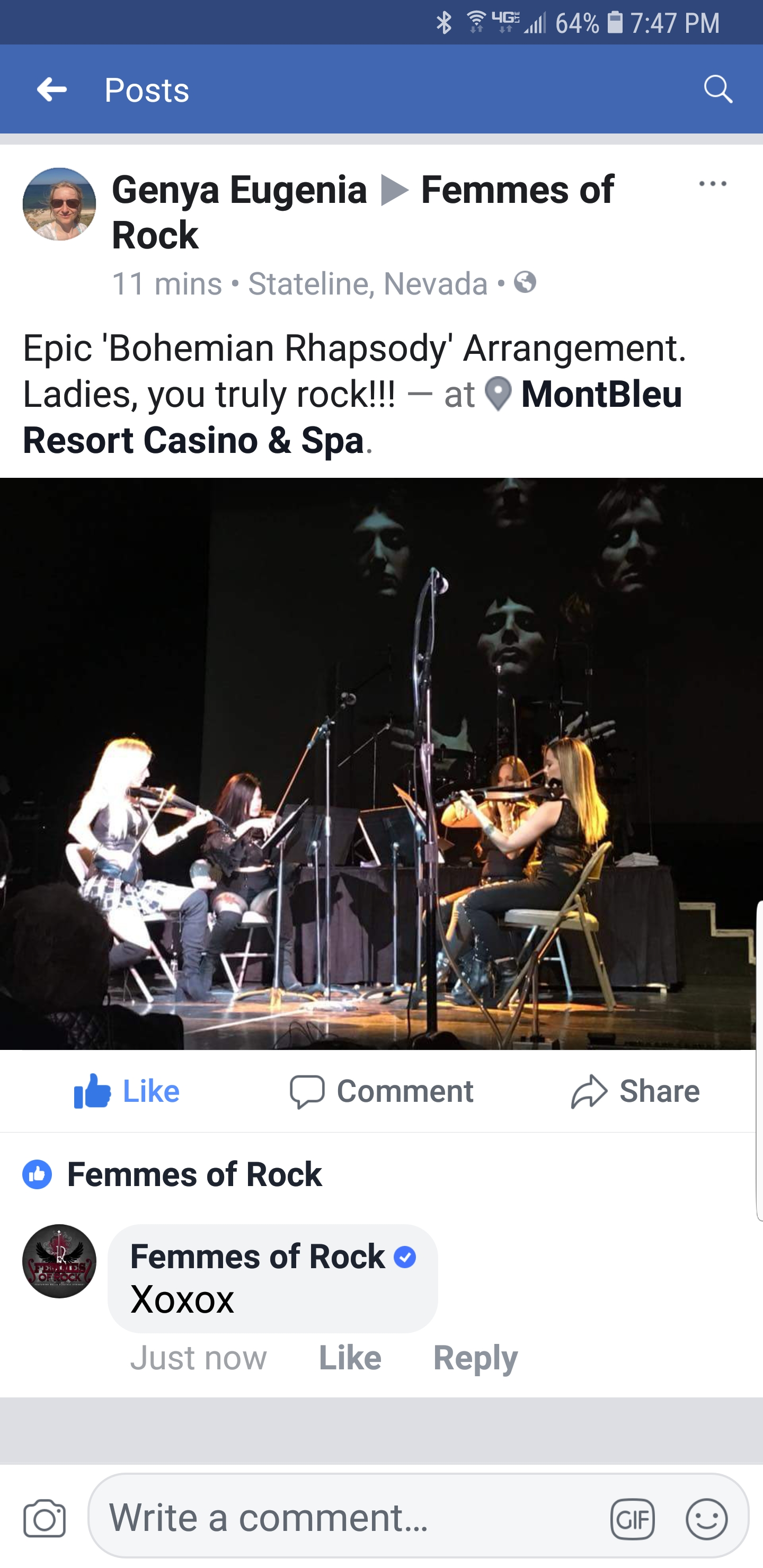 Fan Reviews - Femmes of Rock